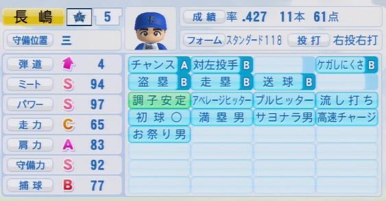 実況パワフルプロ野球2016 栄冠ナイン長嶋茂雄最終データ