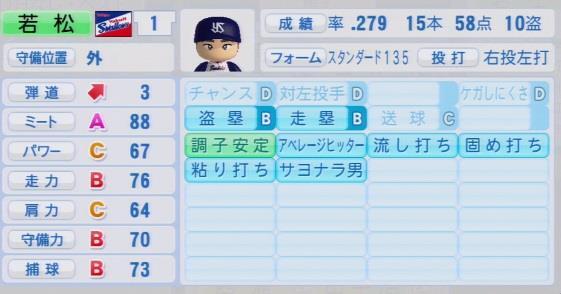 実況パワフルプロ野球2016 OBペナント 若松勉