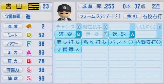 実況パワフルプロ野球2016 OBペナント 吉田義男