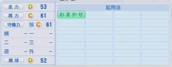 実況パワフルプロ野球2016ver1.03 岩嵜 翔