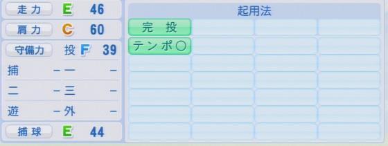 実況パワフルプロ野球2016ver1.03寺原 隼人