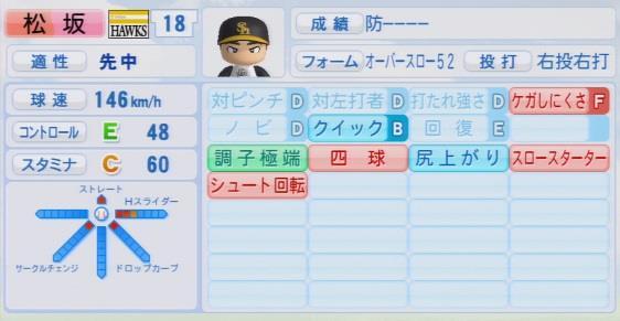 実況パワフルプロ野球2016ver1.03松坂 大輔