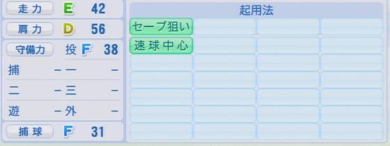 実況パワフルプロ野球2016ver1.03星野 大地