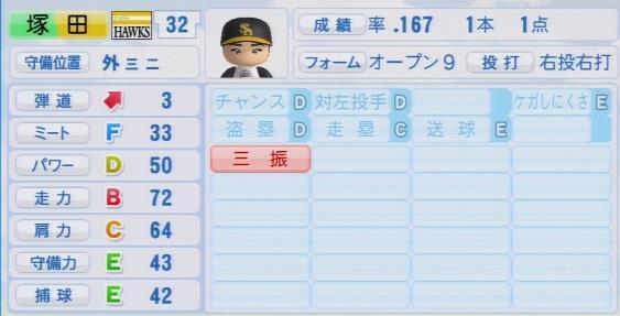 実況パワフルプロ野球2016ver1.03塚田 正義