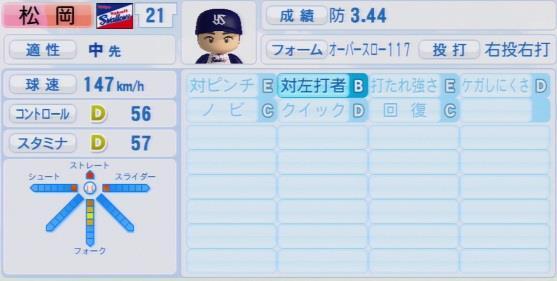 実況パワフルプロ野球2016ver1.03松岡 健一