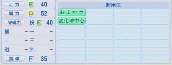 実況パワフルプロ野球2016ver1.03古野 正人