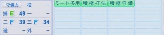 実況パワフルプロ野球2016ver1.03田中 雅彦