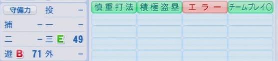 実況パワフルプロ野球2016ver1.03大引 啓次