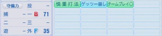 実況パワフルプロ野球2016ver1.03武内 晋一