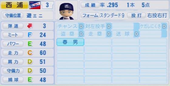 実況パワフルプロ野球2016ver1.03西浦 直亨