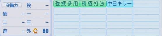 実況パワフルプロ野球2016ver1.03雄平
