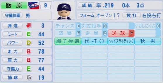 実況パワフルプロ野球2016ver1.03飯原 誉士