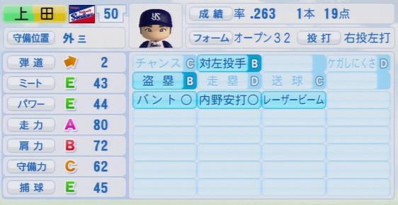 実況パワフルプロ野球2016ver1.03上田 剛史