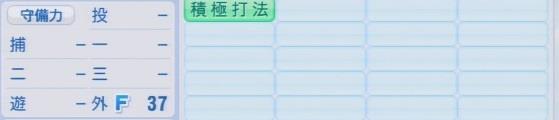 実況パワフルプロ野球2016ver1.03川上 竜平