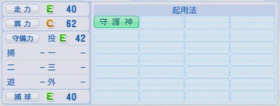 実況パワフルプロ野球2016ver1.03増井 浩俊パワプロ