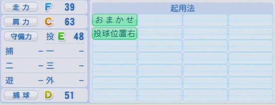 実況パワフルプロ野球2016ver1.03須永 英輝パワプロ