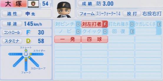 実況パワフルプロ野球2016ver1.03大塚 豊パワプロ