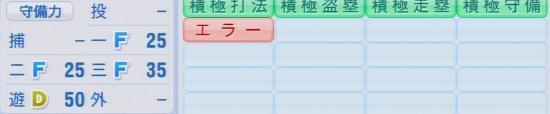 実況パワフルプロ野球2016ver1.03渡邉 諒パワプロ