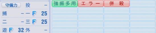 実況パワフルプロ野球2016ver1.03髙濱 祐パワプロ