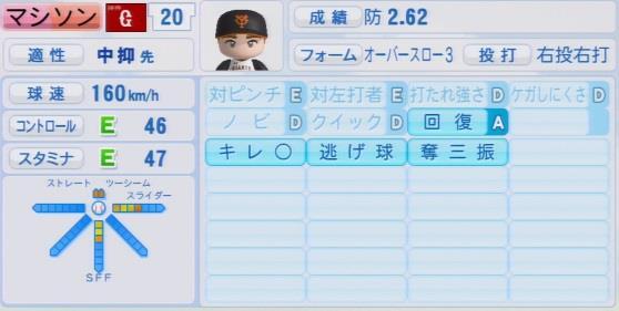 実況パワフルプロ野球2016ver1.03マシソン パワプロ