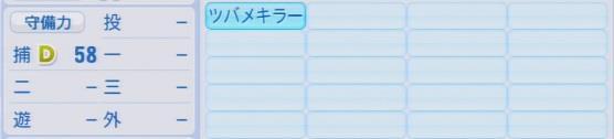 実況パワフルプロ野球2016ver1.03小林 誠司パワプロ