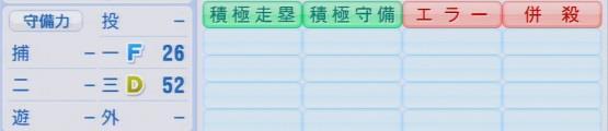 実況パワフルプロ野球2016ver1.03村田 修一パワプロ
