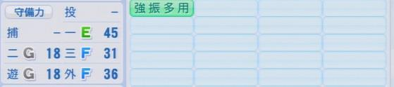 実況パワフルプロ野球2016ver1.03中井 大介パワプロ