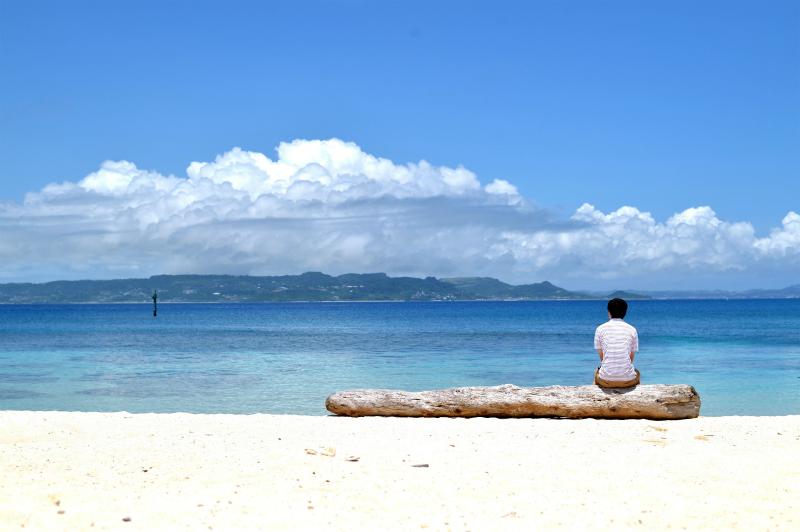 @Kudaka iland-Irabu beach