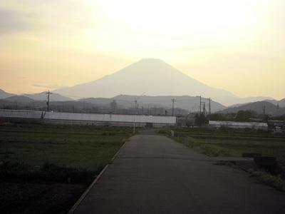 帰りの富士160406