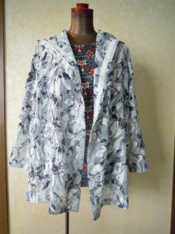 カットボイルで夏の羽織物1