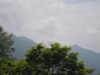 雲取山が見える160529