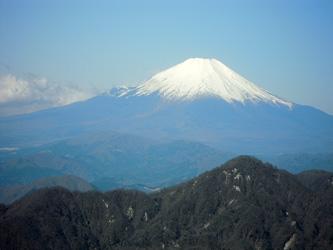 蛭ヶ岳からの富士山0415