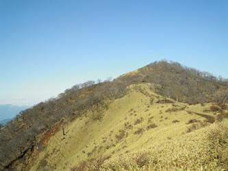 稜線を歩く0415