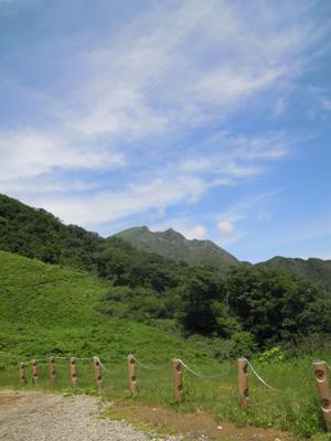 天神平から谷川岳