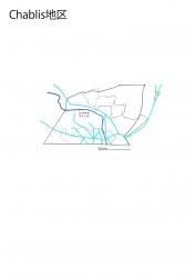 シャブリ白地図