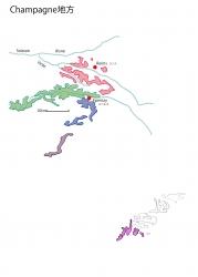 シャンパーニュ白地図②