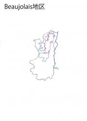 ボジョレー白地図