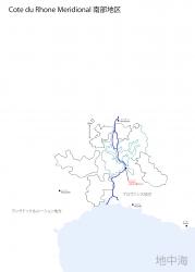 南部白地図