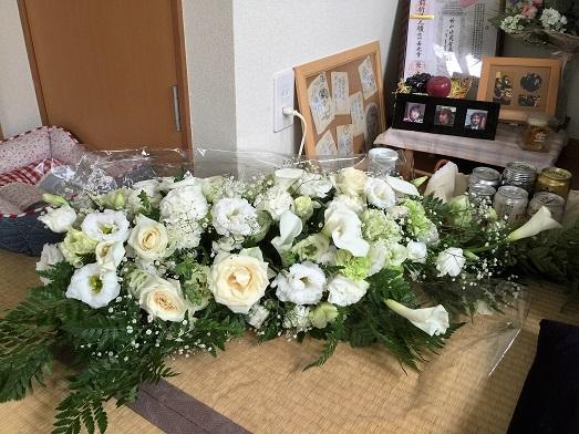 きれいなお花いただきました💛