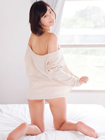 """""""ミス成城""""Fカップ夏江紘実、大人の色気も魅せた"""