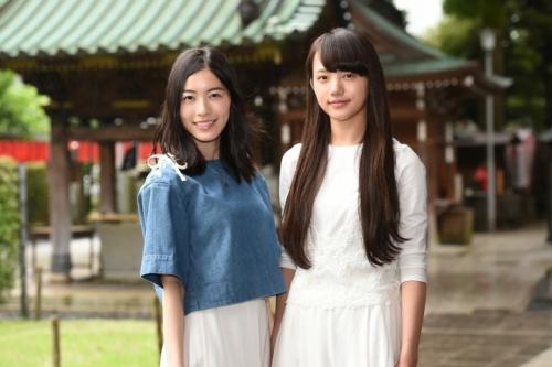 松井珠理奈「同い年ぐらいなのかなって思っていた」 ドラマ『死幣』妹役に『あさが来た』ふゆ役・清原果耶(14歳)