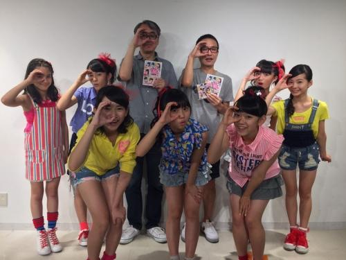 小学4年生から中学3年生までの7名のちゃおガールで結成したユニットCiao SmilesがCDデビュー
