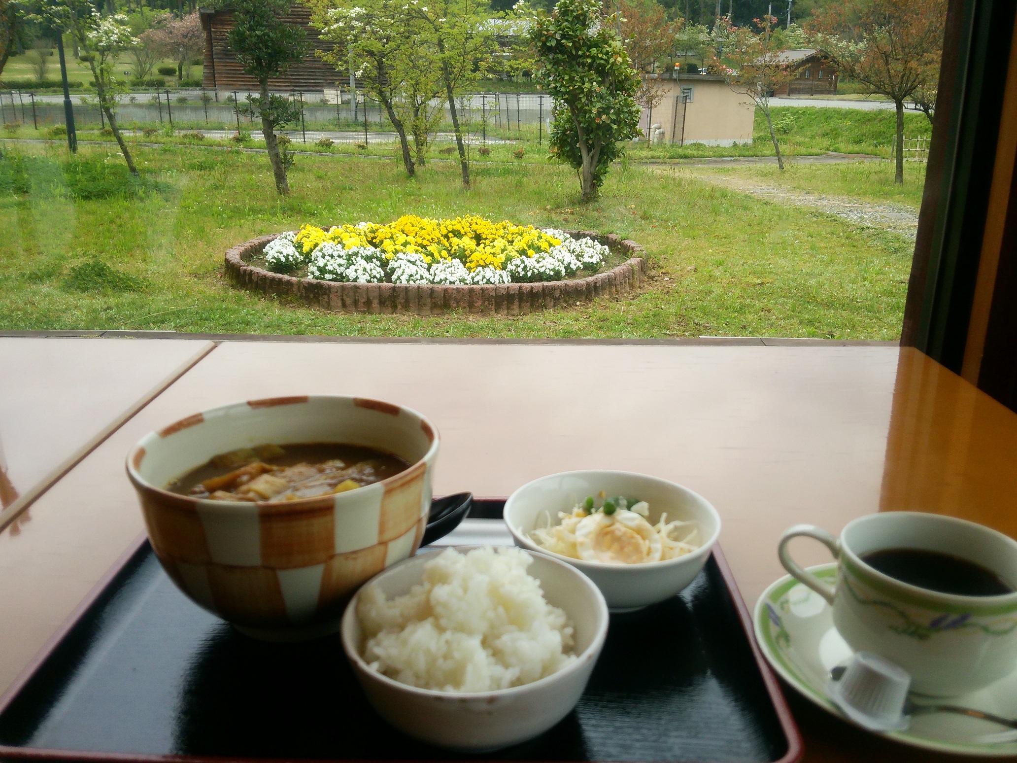 喫茶カモミールからの風景