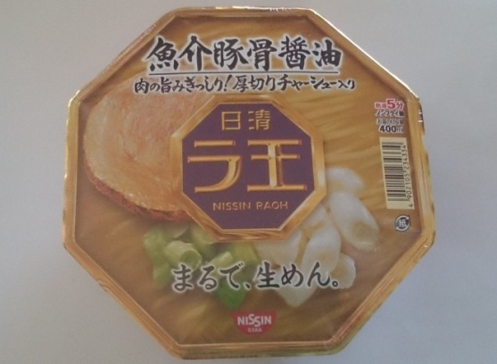 ラ王 魚介豚骨醤油