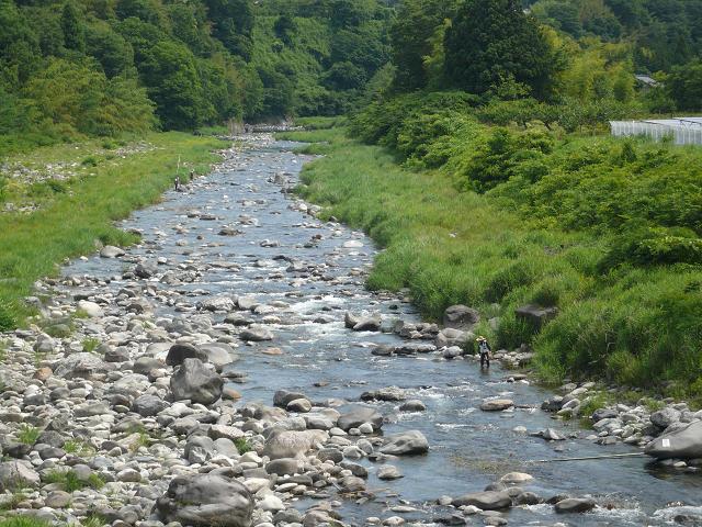 鳥山20160626試し釣り川