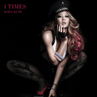 倖田來未「4 TIMES」初回限定盤
