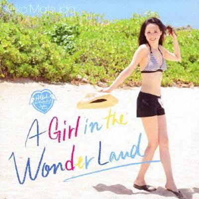 松田聖子「A Girl in the Wonder Land」(初回限定盤A)(DVD付)