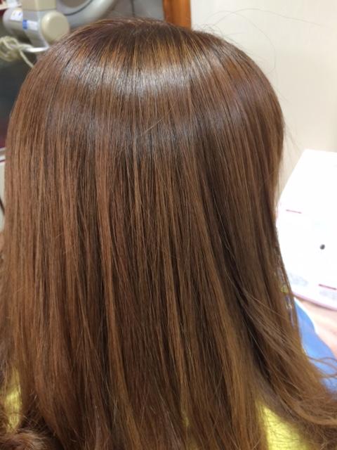 美しい髪になれる縮毛矯正 ロングヘア
