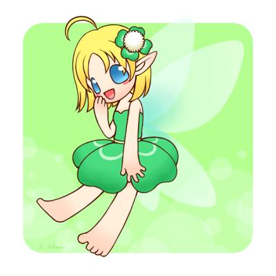 クローバーの妖精