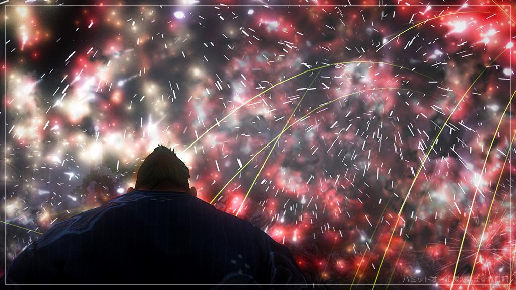 7/23の花火大会。